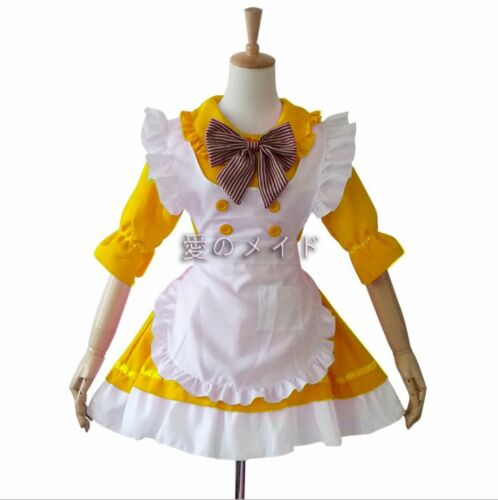 HOT SALE Japanese Anime colourful Cosplay customes for Lolita Maid dress