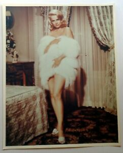 MARTHA-HYER-Vintage-Rare-Color-Portrait-8x10-Pin-Up-Glamour