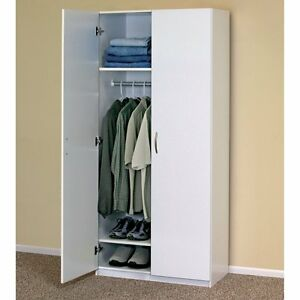 Bedroom Armoire With Shelves