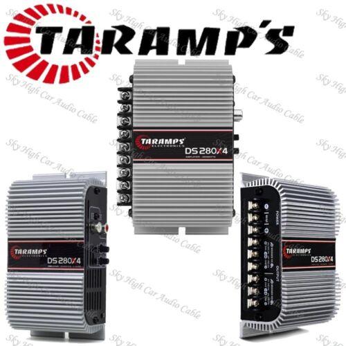 Taramps DS280x4 2 OHMS 4 Channel Amplifier w// Warranty in the USA!
