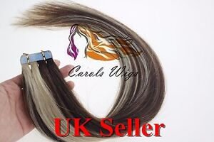 26-034-90g-8A-Russian-Slavic-Remy-Double-Drawn-Tape-In-Human-Hair-Extensions-UK