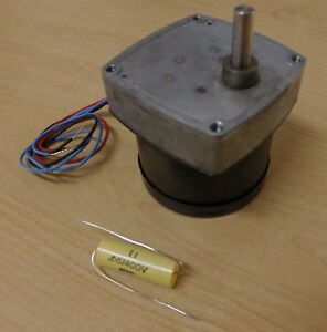 Hurst Dual Speed Ac Synchronous Motor P N 3211 001 3 And