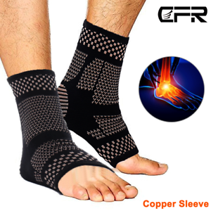 Copper-Ankle-Support-Brace-Compression-Sleeve-Foot-Pain-Relief-Jogging-Sprain-HG