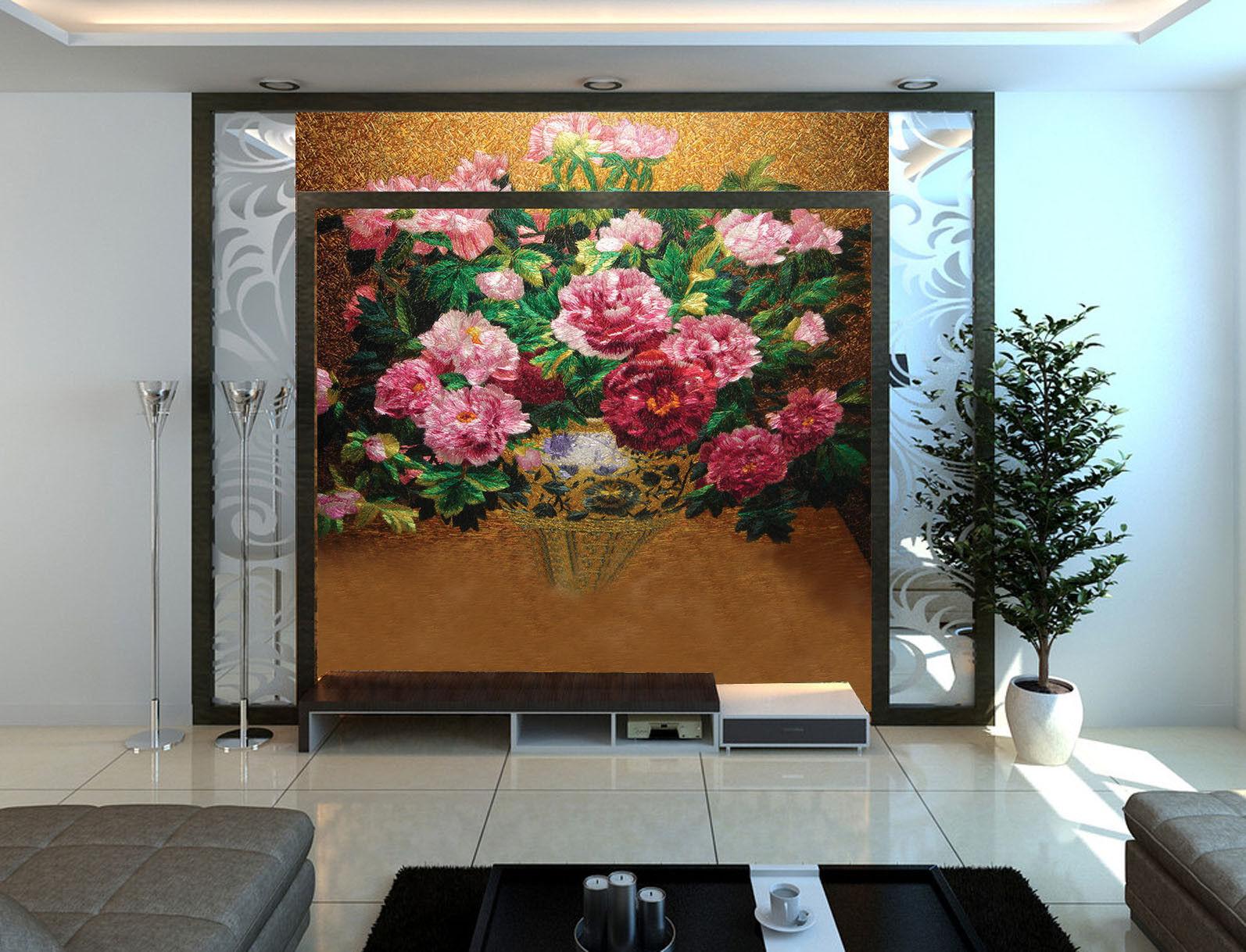 3D Elegante PfingstRosa 976 976 976 Tapete Wandgemälde Tapete Tapeten Bild Familie DE | Online-Shop  10610f