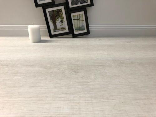 Klick Vinylboden Vintage Oak white NK32 Komplettset Dämmung /& Leiste ab18,99€//m²