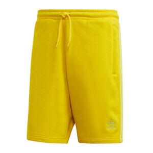 Détails sur Adidas Originals Blc 3 Stripe Short Jaune