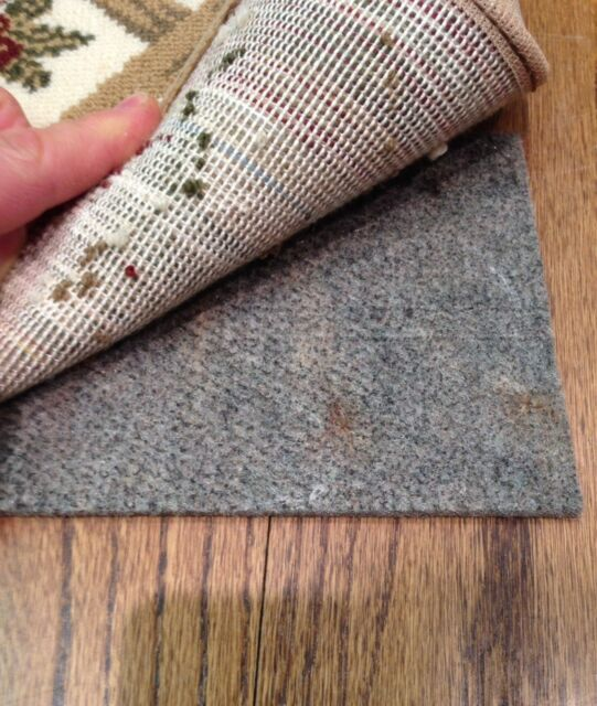 2'x8' H Plus Shaw Non Slip Felt and Rubber Rug Pad for Hard Floors