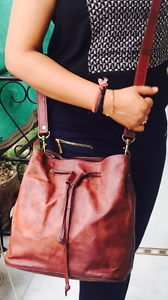Women Handmade Pure Bag Messenger 309782143845 Vintage Goat New Natural Brown Purse Leather dCtxBshQr