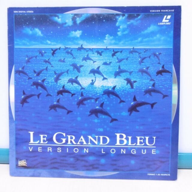 2 x LASER DISC LE GRAND BLUE B.o. Film VIDEO PAL Luc BESSON Laserdisc VOX VIDEO