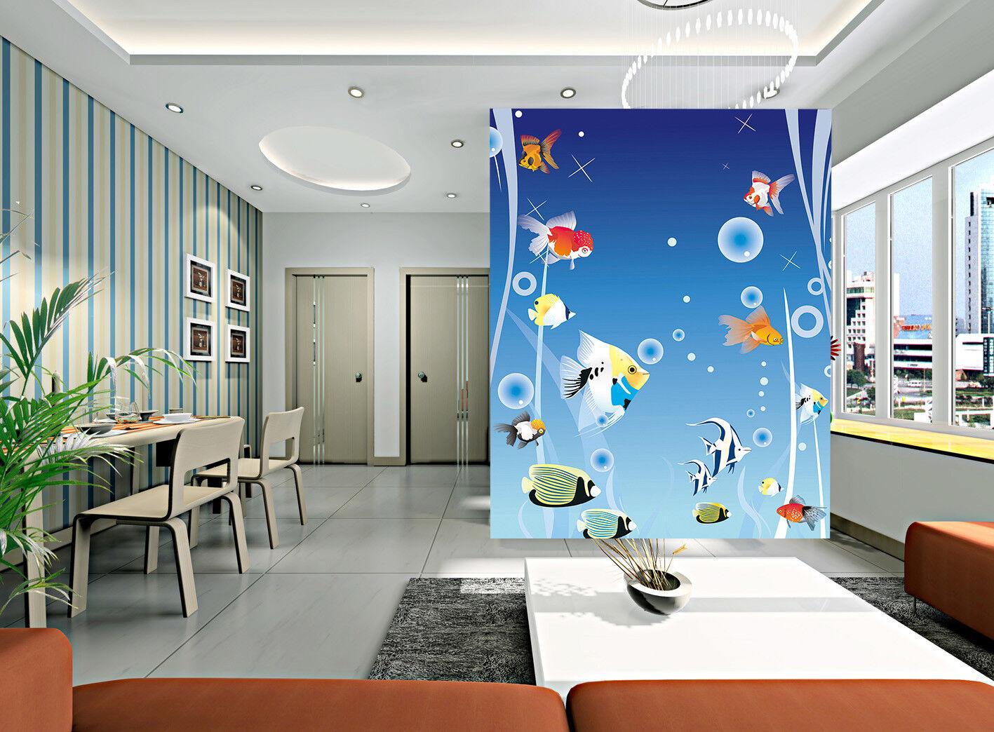 3D Fish Balloon 425 Wallpaper Murals Wall Print Wallpaper Mural AJ WALLPAPER UK