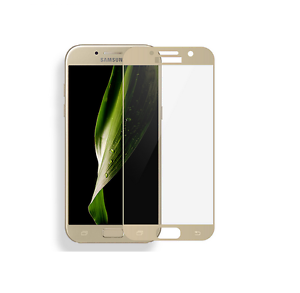 Samsung-Galaxy-A5-2016-FULL-SCREEN-COVER-3D-Display-Schutzglas-Schutzfolie-GOLD
