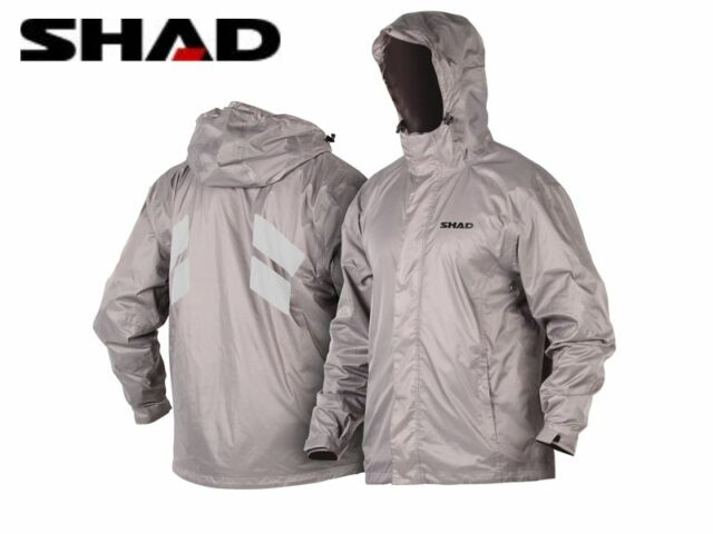 Jacket rain waterproof reflective quad bike scooter pockets interior NEW