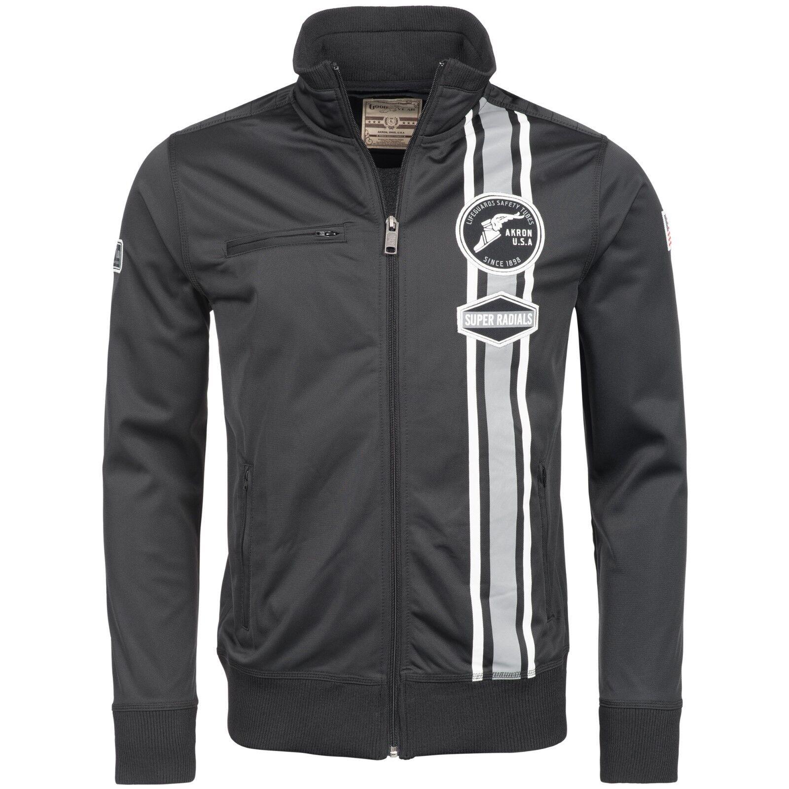 26ff0eed511c1 Goodyear Matteson Trikotfleece schwarz Racing Jacket Jacke Jacket Men  nuxqkw3996-Fitnessmode
