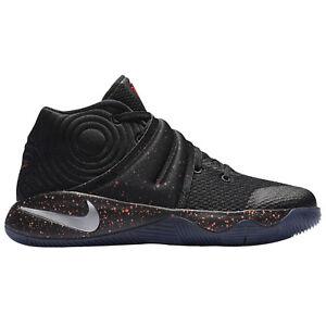 Nike-Kyrie-2-PS-11C-noir-rouge-metallique-tachete-Edition-croise-Pre-Scolaire