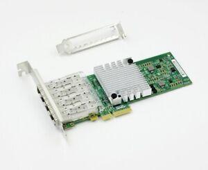 Details about INTEL I350-F4 Quad Port Fiber SFP Ethernet Network Server  Adapter NHI350AM4 Nic