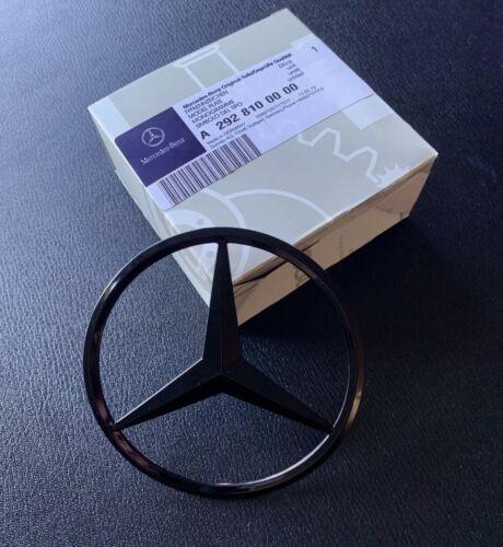 Mercedes Coupe W292 tapa posterior arranque gle Insignia Emblema Estrella Brillante Negro A2928100000