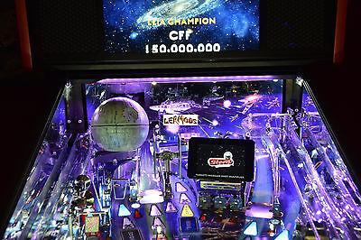 Ghostbusters Pinball Machine backboard light Mod Terminator 2 Star Wars