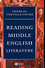 Middle English Literature: An Introduction by Thorlac Turville-Petre (Hardback, 2006)
