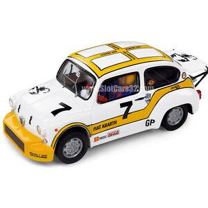 Nuevo-COCHE-SCALEXTRIC-FIAT-1000-ABARTH-BERLINA-CORSE-SCX-A10121-SEAT