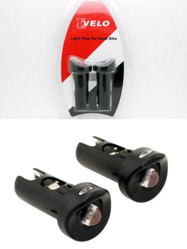 Luces Led para Manillar de Bicicleta de Carretera Gran Potencia Marca VELO 3327
