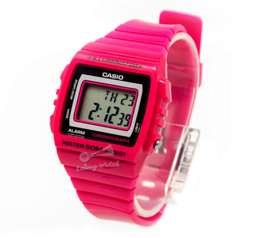 1 of 1 - -Casio W215H-4A Digital Watch Brand New & 100% Authentic