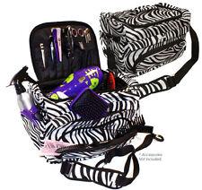 Hair Tools Haito Professional Hairdressers/Beauty Zebra Kit Bag/Tool Case