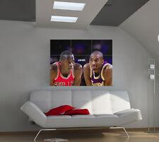 "Michael Jordan Huge Art Giant Poster Wall Print 39""x57"" px37"