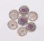 10X-Bohemian-3D-Flower-Turquoise-Conchos-For-Leather-Craft-Keychian-Wallet-Decor miniatuur 51