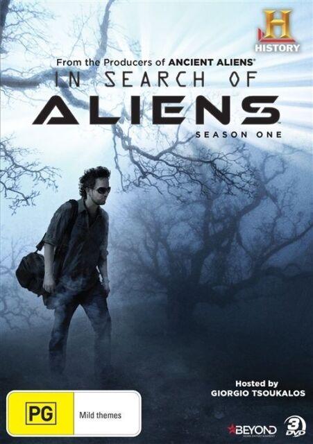 In Search Of Aliens : Season 1 (DVD, 2015, 3-Disc Set)