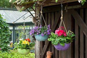 ARTSTONE-Fiona-Blumenampel-Haengeschale-25cm-10-verschiedene-Farben