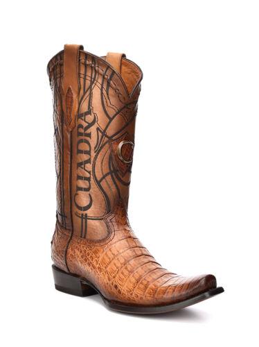 1J1NFY Crocodile Western Boots made by Cuadra