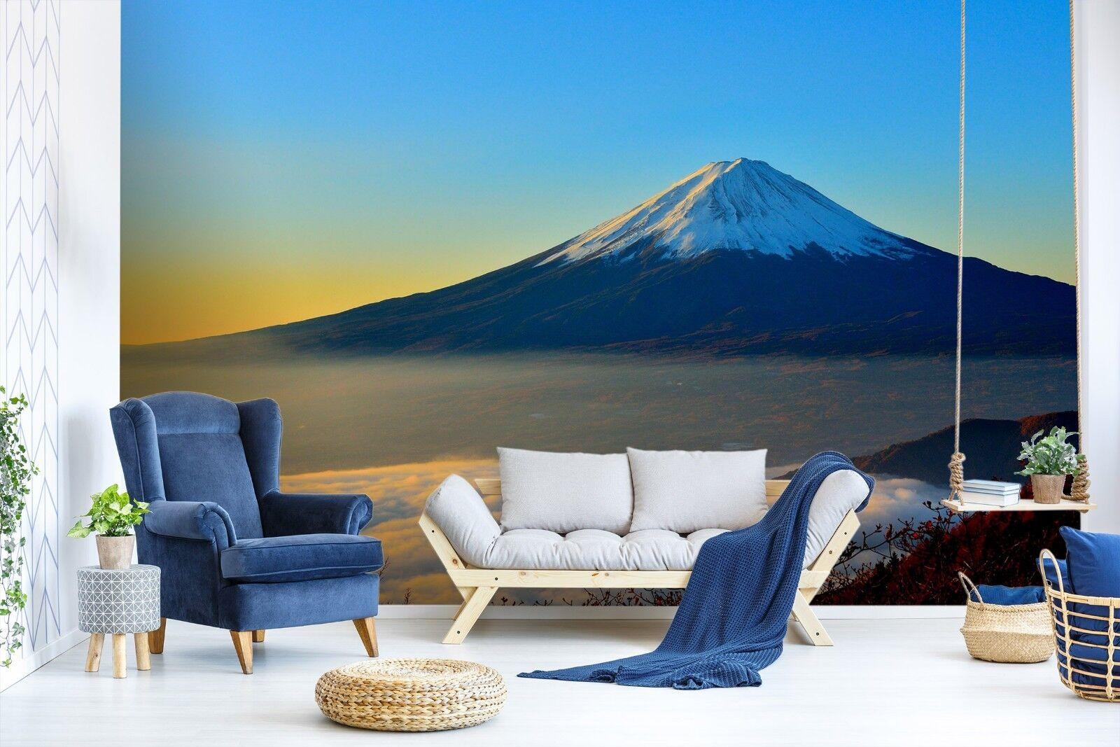 3D white Berge 7095 Tapete Wandgemälde Tapete Tapeten Bild Familie DE Sidney