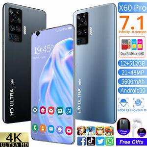 X60-Pro-Smartphone-Android-7-1-in-environ-18-03-cm-12-512GB-Debloque-Telephone-portable-Dual-SIM
