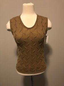 Armani-Collezioni-Brown-Wool-Sweater-Vest-Size-2