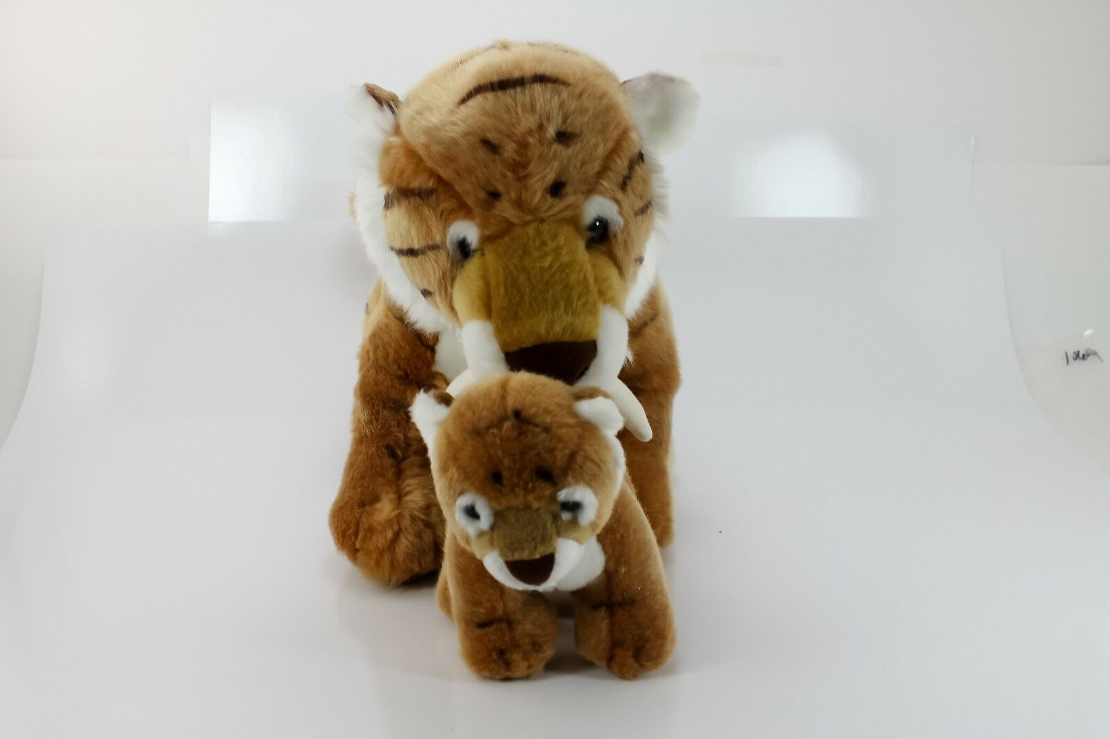 Build A Bear Build A Dino SaberTooth Tiger w/Mini RETIrosso HTF RARE NW0T