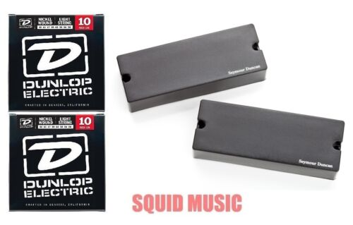 Seymour Duncan AHB-1s 8 String Blackouts Phase II Soap Bar 2 SETS OF STRINGS