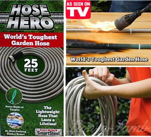Image Is Loading Original Metal Garden Hose Hero As Seen On