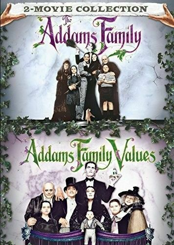 The Addams Family (1991) / Addams Family Values (2 Disc) DVD NEW