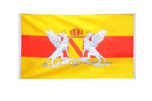 BALKONFLAGGE BALKONFAHNE Deutschland Großherzogtum Baden 2 Flagge Fahne für den