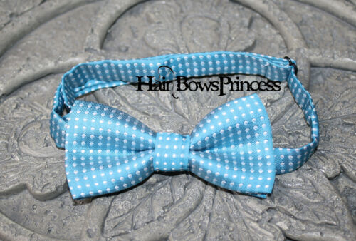 Boys infant toddler child bow tie turquoise photo prop wedding boy kids baby US
