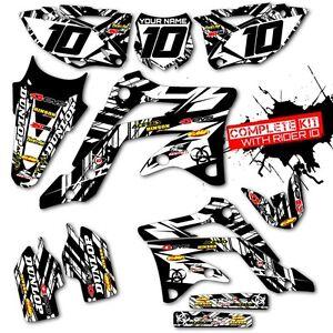 KTM EXC GRAPHICS KIT MOTOCROSS DIRT BIKE DECALS MX - Decal graphics for dirt bikes