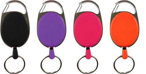 Farbe//Menge nach Wahl Schlüsselhalter Schlüsseljojo Skipasshalter Ausweisjojo