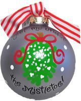 Coton Colors For Dillards Christmas Ornament Meet Me Under The Mistletoe