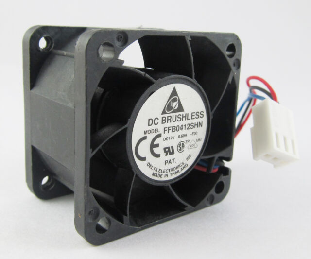 3 pin connector Delta FFB0612EHE Used DC Brushless Fan