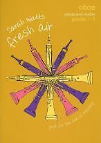 Discipliné Fresh Air Oboe Grades 1-3 W-afficher Le Titre D'origine