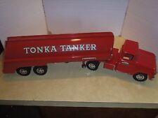 VINTAGE TONKA TANKER TRUCK-VERY NICE-1960'S-TONKA TOY-PRESSED STEEL