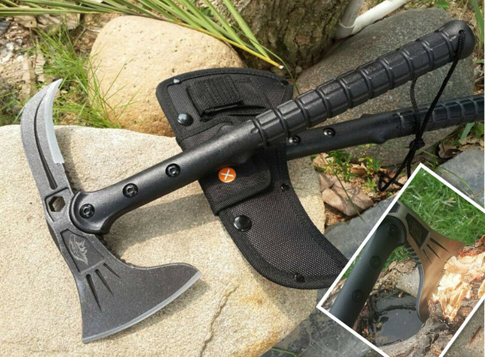 Ultimate Camping Tool, Survival-Fishing Axe, Fire Axe, Hand Tool -FB04-BK
