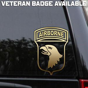 Army 101st airborne division decal sticker veteran window for 101st airborne window decals