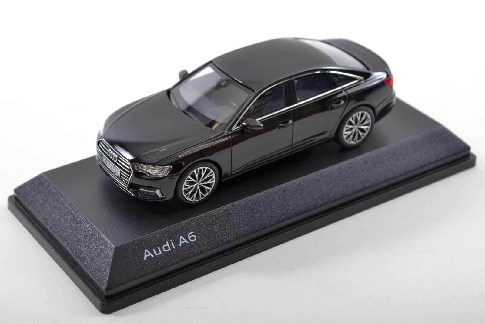 Audi a6 c8 Berline, mythe noir, 1 43 5011806132