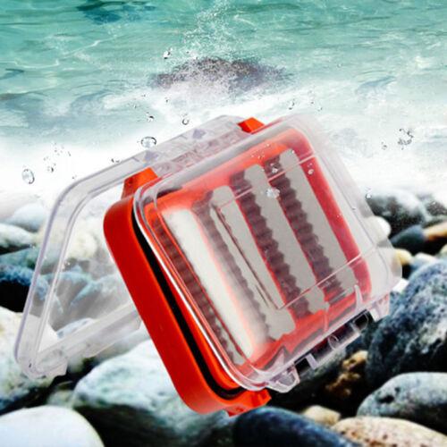 Double Side Foam Fliegenfischen Köder Locken Haken Aufbewahrungskoffer Box